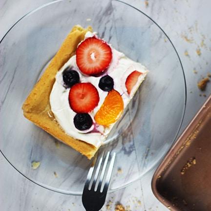 Strawberry Mandarin Orange Fruit Pizza
