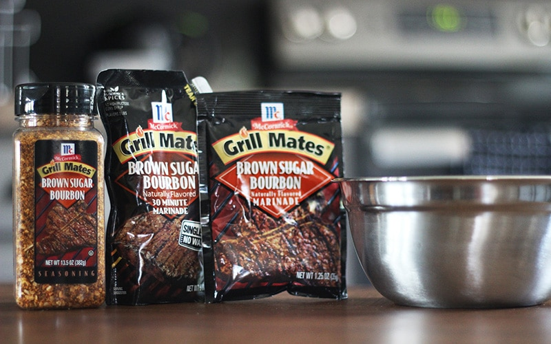 McCormick Grill Mates Brown Sugar Bourbon Seasoning packets