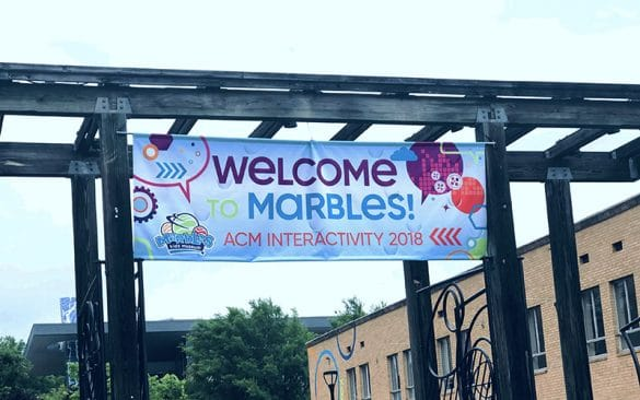welcome to marbles museum banner