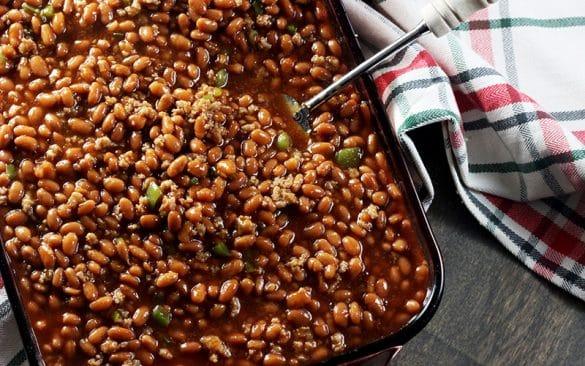 pork free baked beans recipe