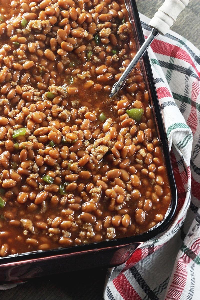 pork free baked beans
