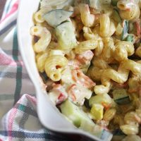 Chicken Cobb Pasta Salad