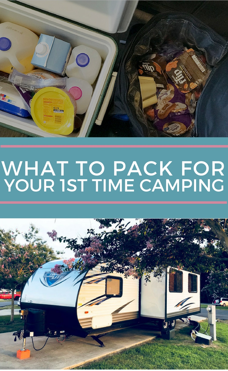 The New Campers Family Camping Packing Guide First family camping trip? Not sure what to pack? This family camping checklist is a comprehensive list of items you will need to fully enjoy your trip. #familytravel #familyvacation #familycamping #camping #packinglist