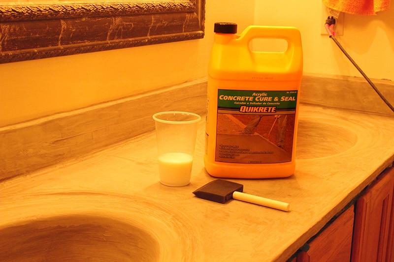 quikcrete acrylic sealer
