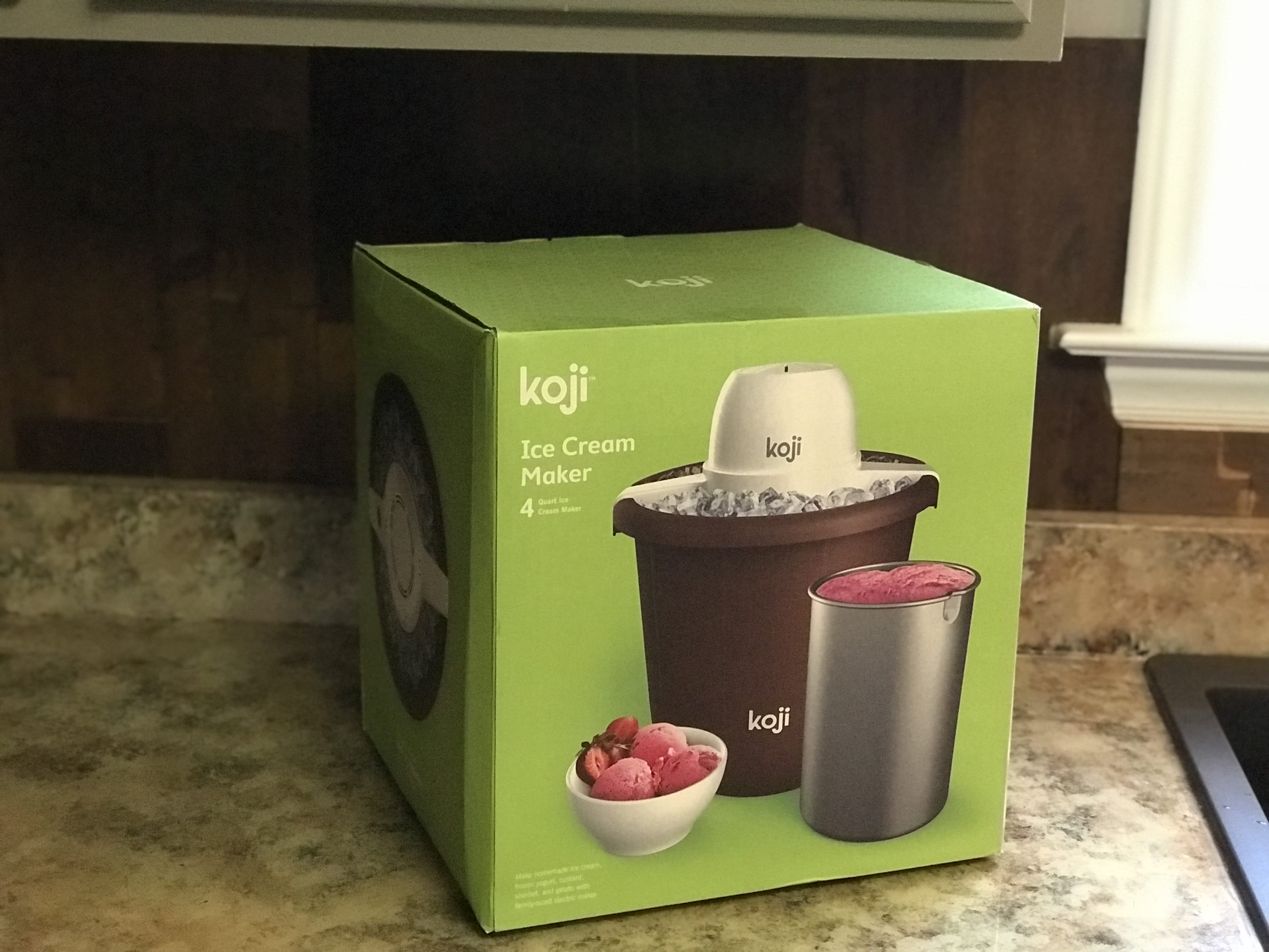 Koji At Home Ice Cream Maker