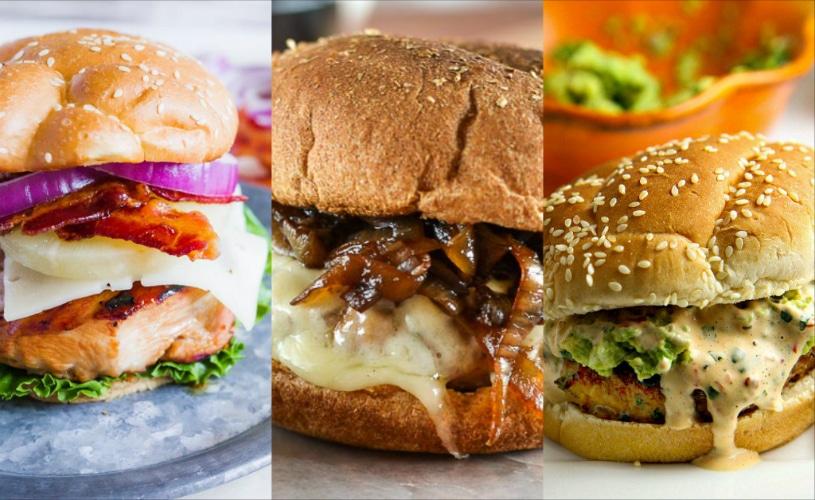 non beef burger recipes