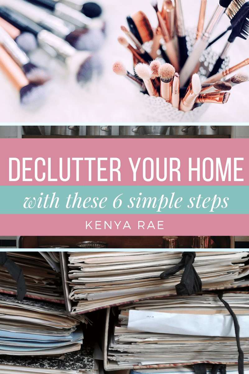 6 Things To Get Rid Of Today To Reduce Clutter In Your Home Decluttering your home means getting rid of unnecessary items, but sometimes it's difficult to know which items to let go. #homemaking #declutter #cleaninghome #housecleaning