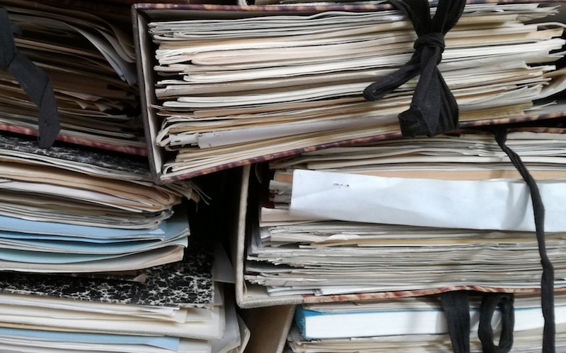 declutter paper