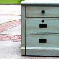 DIY Upcycled File Cabinet