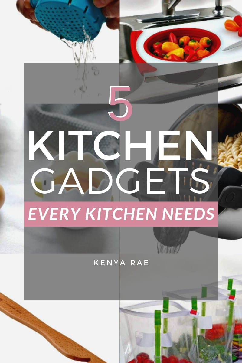 20 Gadgets You Need In Your Kitchen To Make Cooking Easier Cooking can be cumbersome.  But it doesn't have to be.  This list of kitchen gadgets can change how you look at cooking today! #kitchengadgets #gadgets #kitchenware #kitchentools #kitchen #kitchenlover #kitchendetails