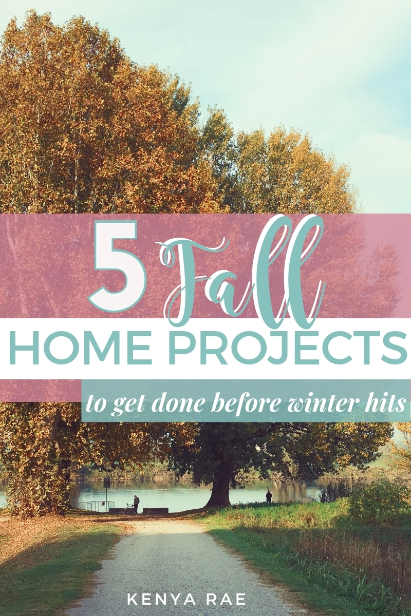 5 Fall Home Projects To Tackle Before Winter The weather is going to be starting to cool and the leaves will begin to fall, which means summer is leaving. This is your official fall home maintenance reminder. #homemaintenance #house #homerepairs #beprepared #propertymaintenance #homerepair #homecleaning #HomeDesign #houseandhome  #homeimprovement #familyhome