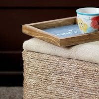 How To Make A Jute Rope Footstool