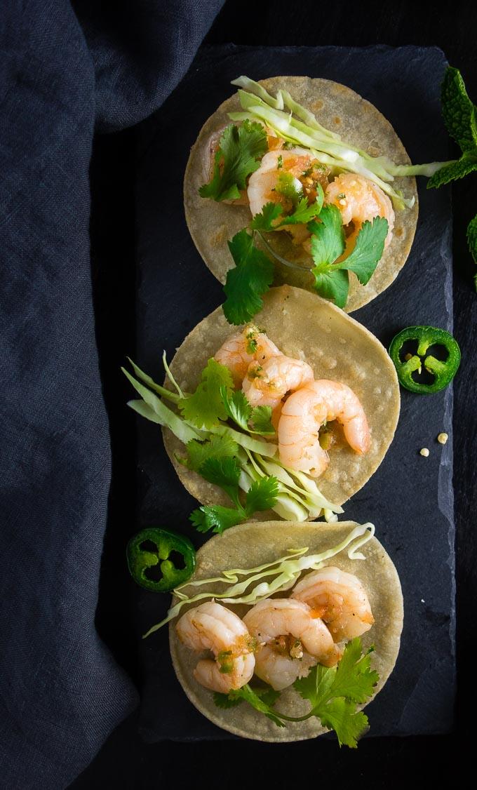 Vietnamese Shrimp Street Tacos