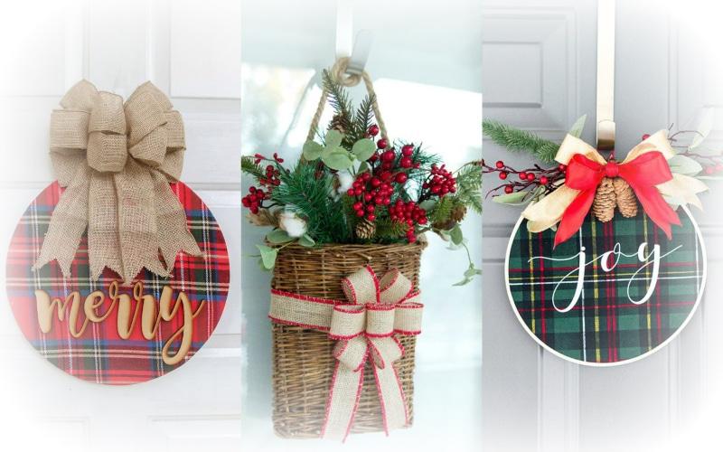 7 simple rustic diy christmas wreaths