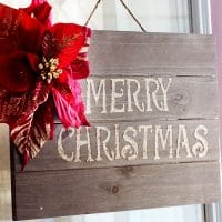 How To Make Wooden Christmas Sign
