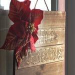 Merry Christmas Wood Christmas plaque