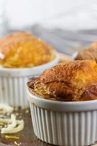cheese egg souffle