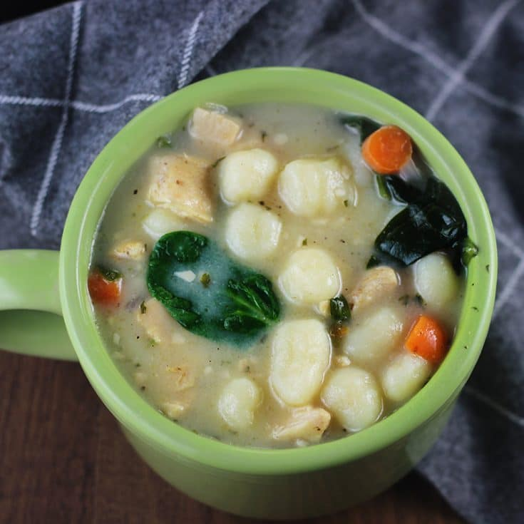 Copycat Chicken Gnocchi Soup