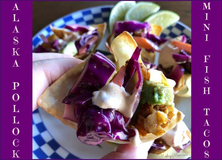 Alaska Pollock Mini Fish Tacos