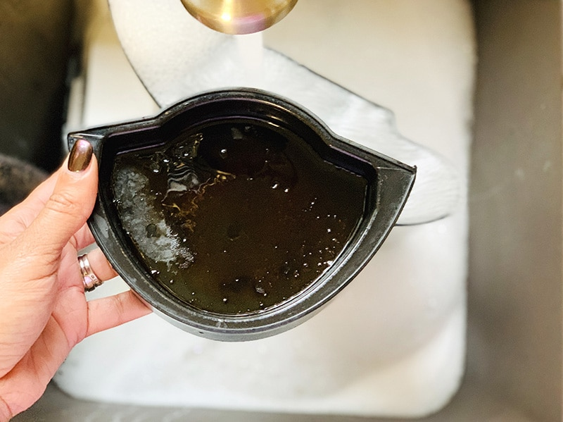 dirty keurig drip pan