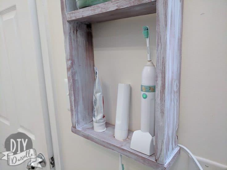 DIY Electric Toothbrush Holder