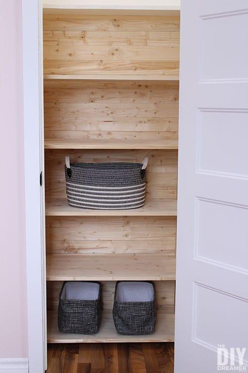 How to DIY a Customizable Closet