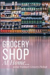 Grocery shop at home using walmart grocery pickup