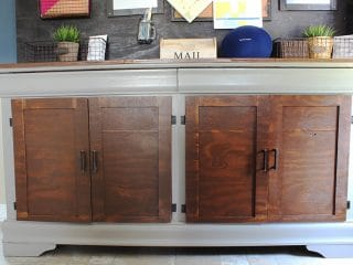 Upcycled Dresser To Buffet