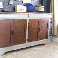 Upcyled Dresser to Buffet
