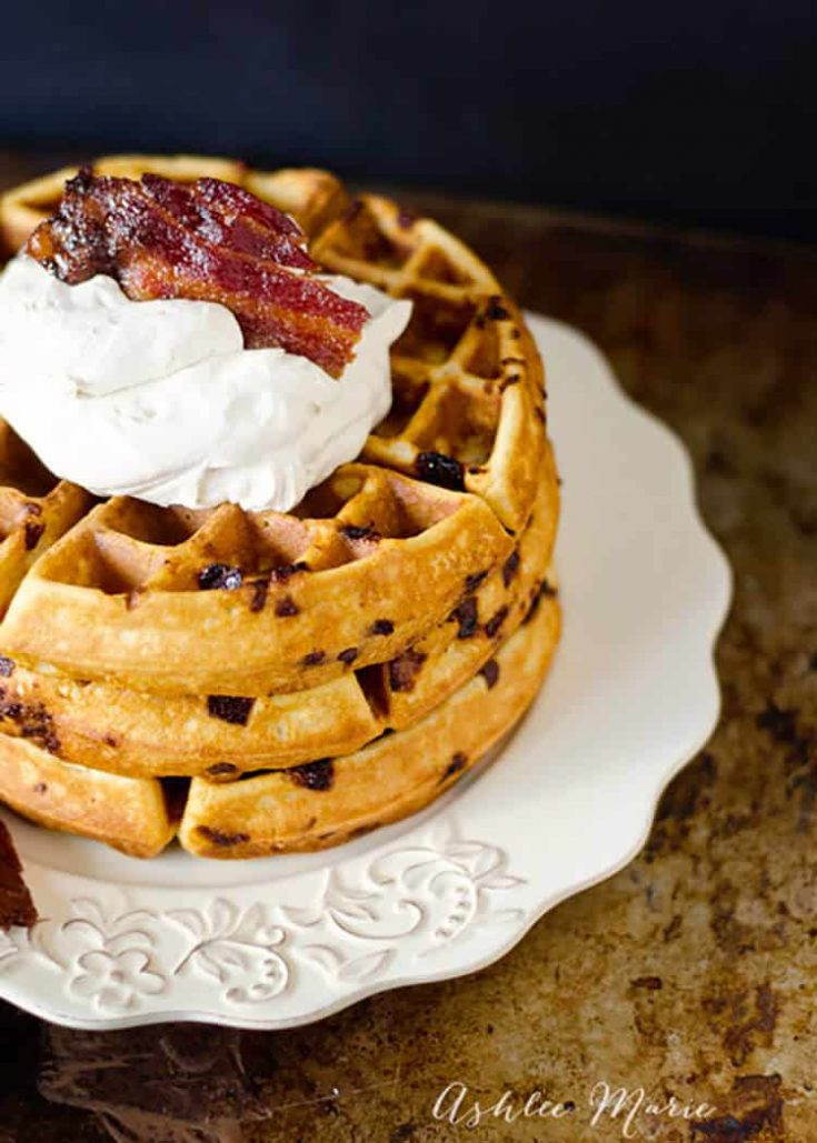 Maple Bacon Waffle Recipe