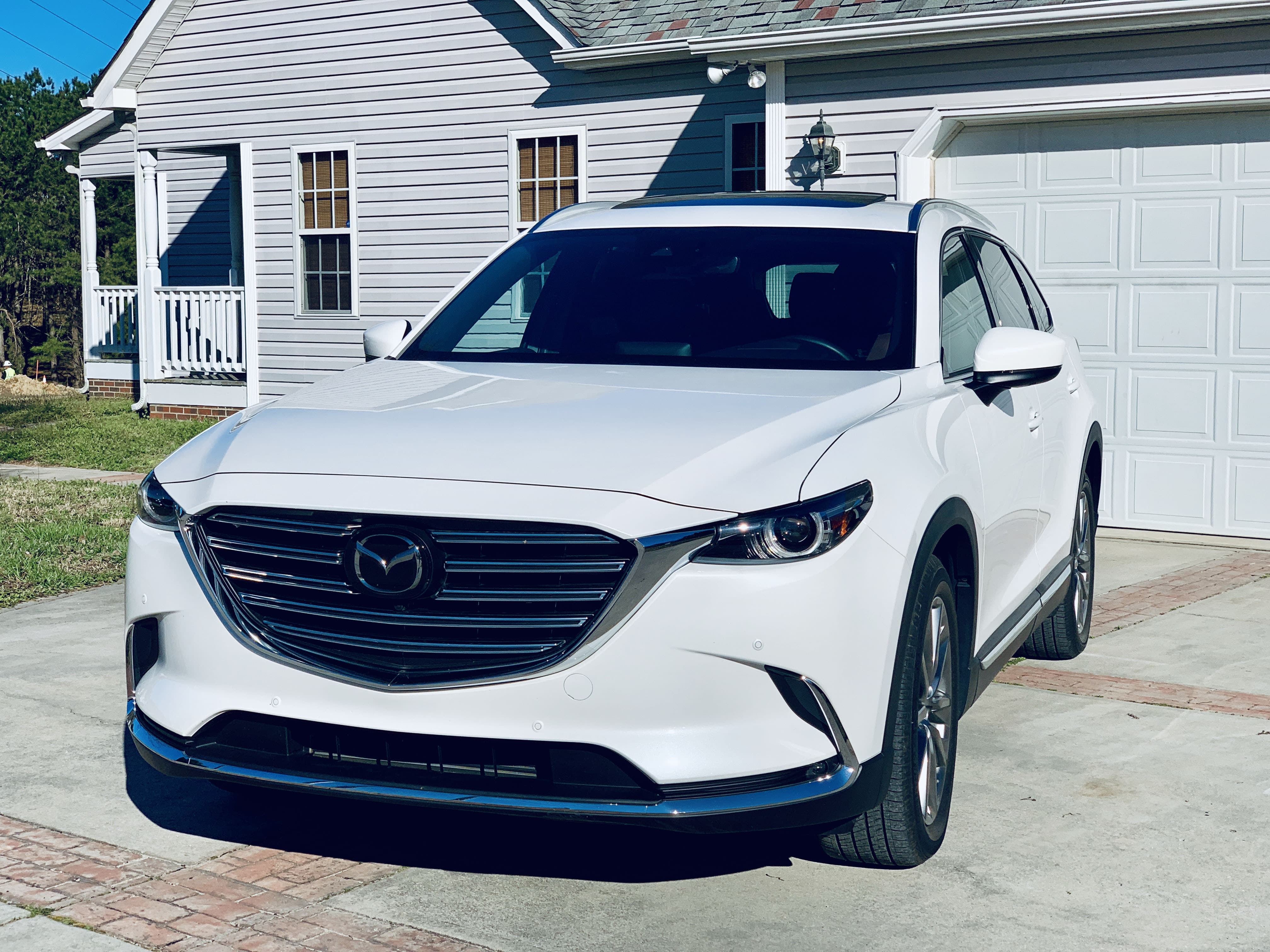 2019 mazda cx9 exterior front view