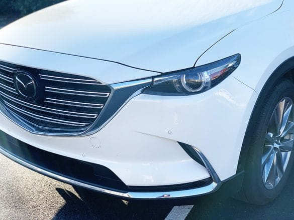 2019 mazda cx9 front side view