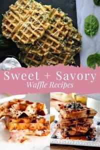 Sweet & Savory Waffle Recipes