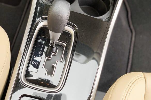 gear shift area