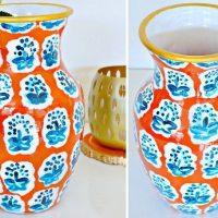Anthropologie Knock Off Vase