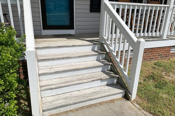 Protecting, Sealing & Adding a  Lil Curb Appeal To My Front Porch Just In Time For Summer