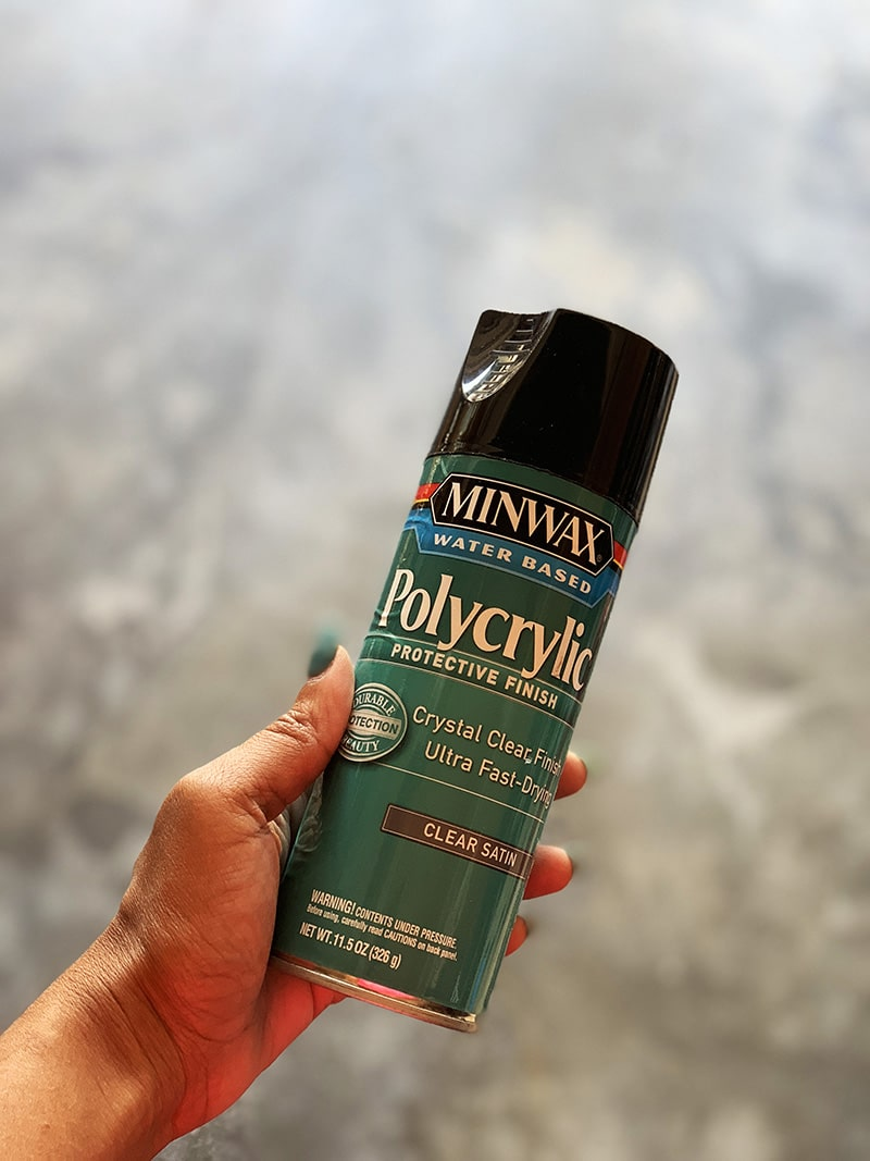 minwax polyurethane aerosol spray