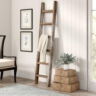 Simple + Easy DIY a Blanket Ladder