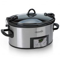 Programmable Slow Cooker with with Digital Timer