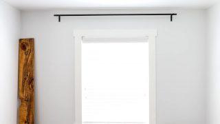DIY Curtain Rods & Brackets