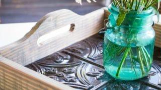 DIY Wood Tray