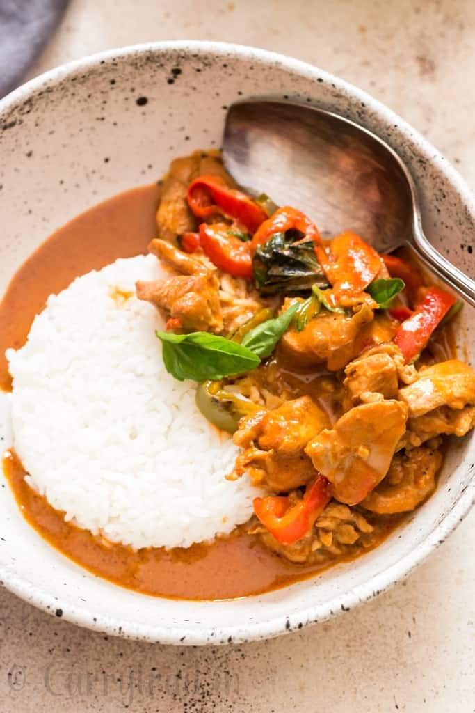 Thai Panang Curry Recipe With Chicken