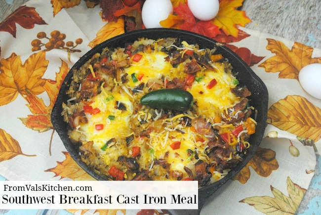 Southwest Breakfast Cast Iron Meal