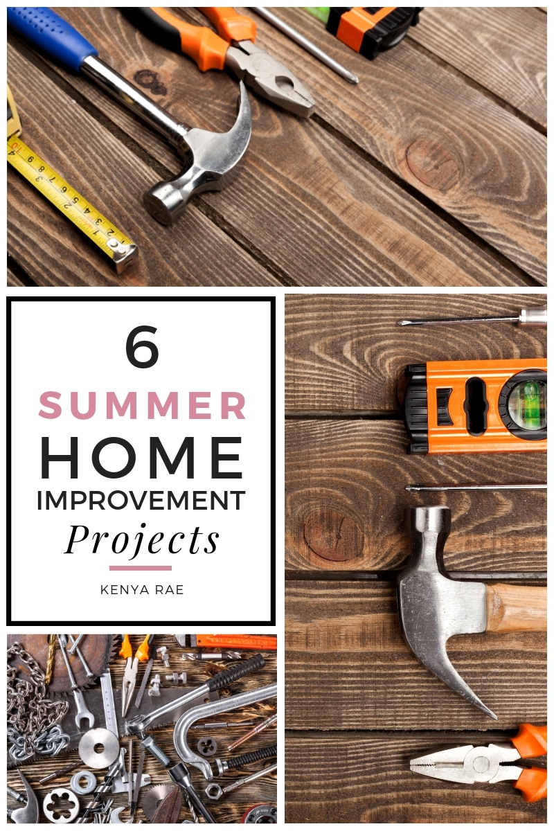 6 summer home improvement projects
