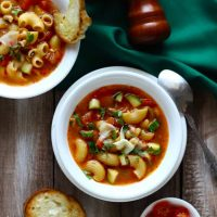 30 Minute Minestrone Soup Recipe