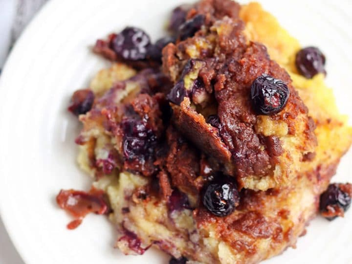 Crockpot Blueberry French Toast