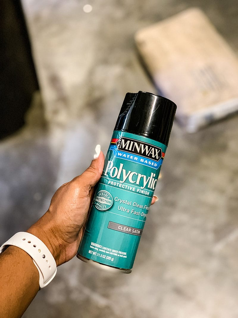 minwax polyurethane spray paint