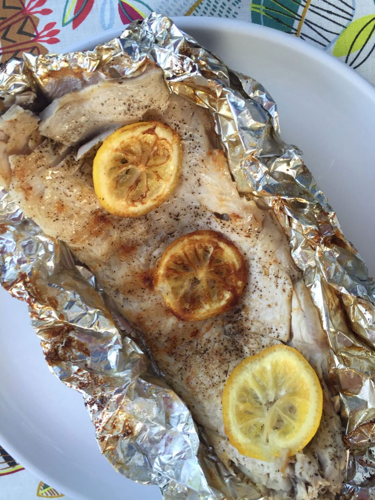 Fish In Foil Packets Recipe With Lemon Butter – Grilled or Baked!