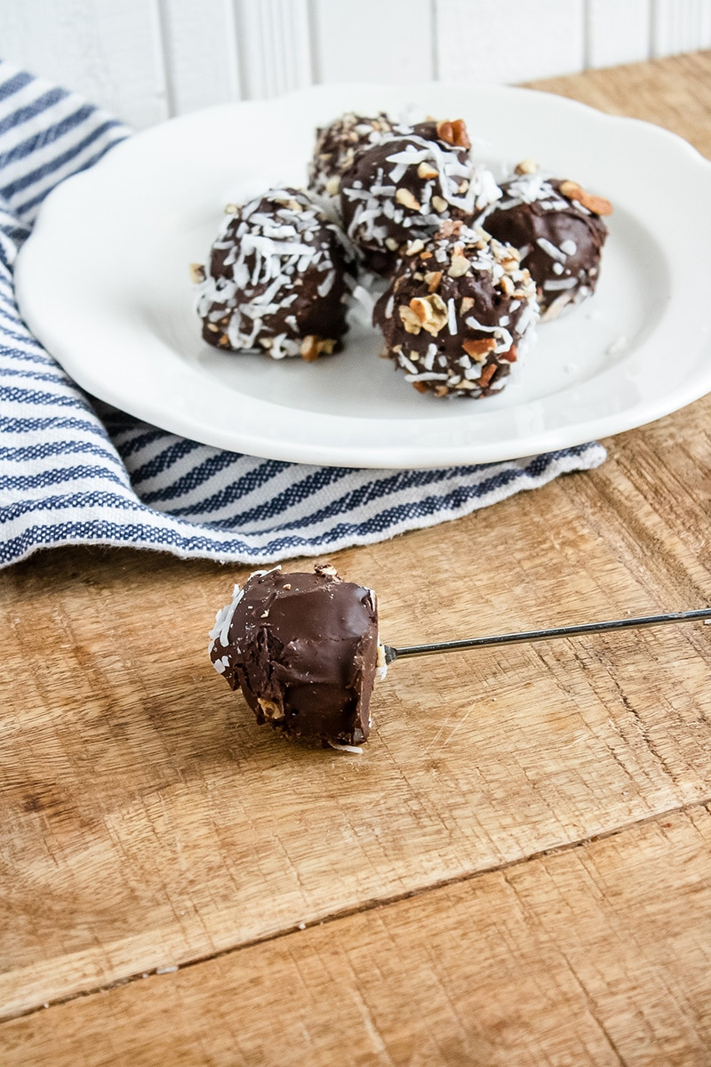 german chocolate cake pops
