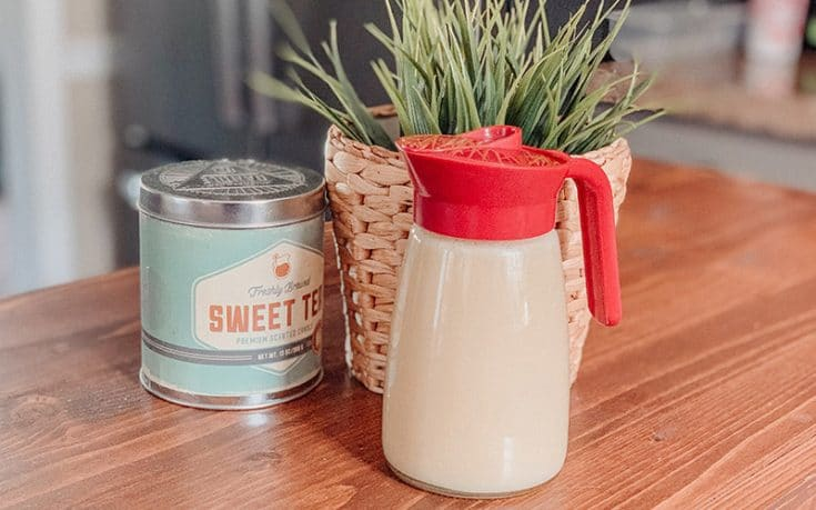 Homemade Butter Syrup